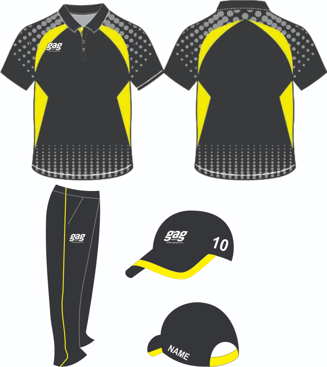 Cricket Uniform Manufacturers and Exporters in Nagpur
