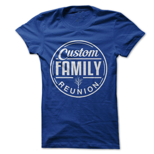 Family Reunion T Shirts Manufacturers in Australia