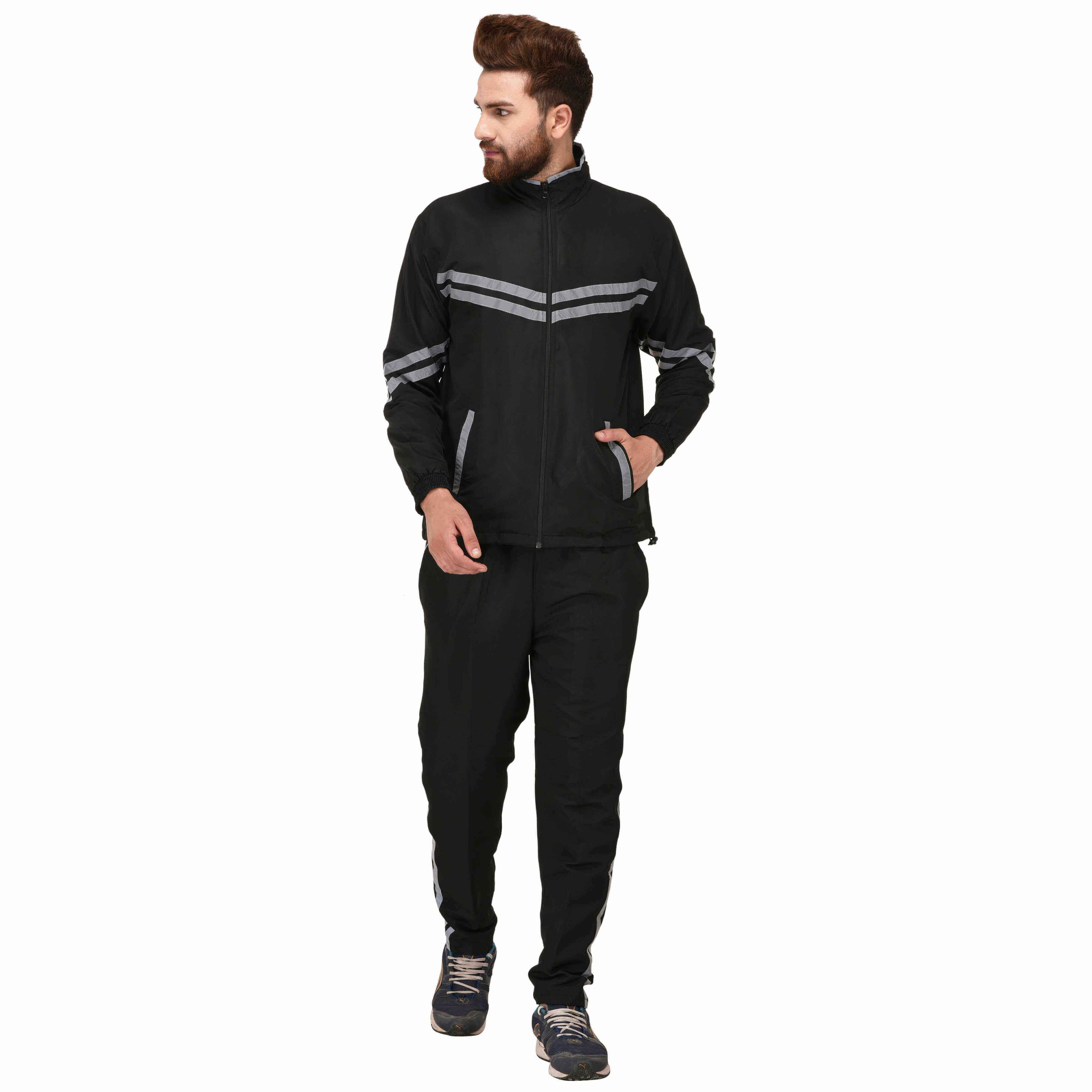 Grey Tracksuit Manufacturers in Noida