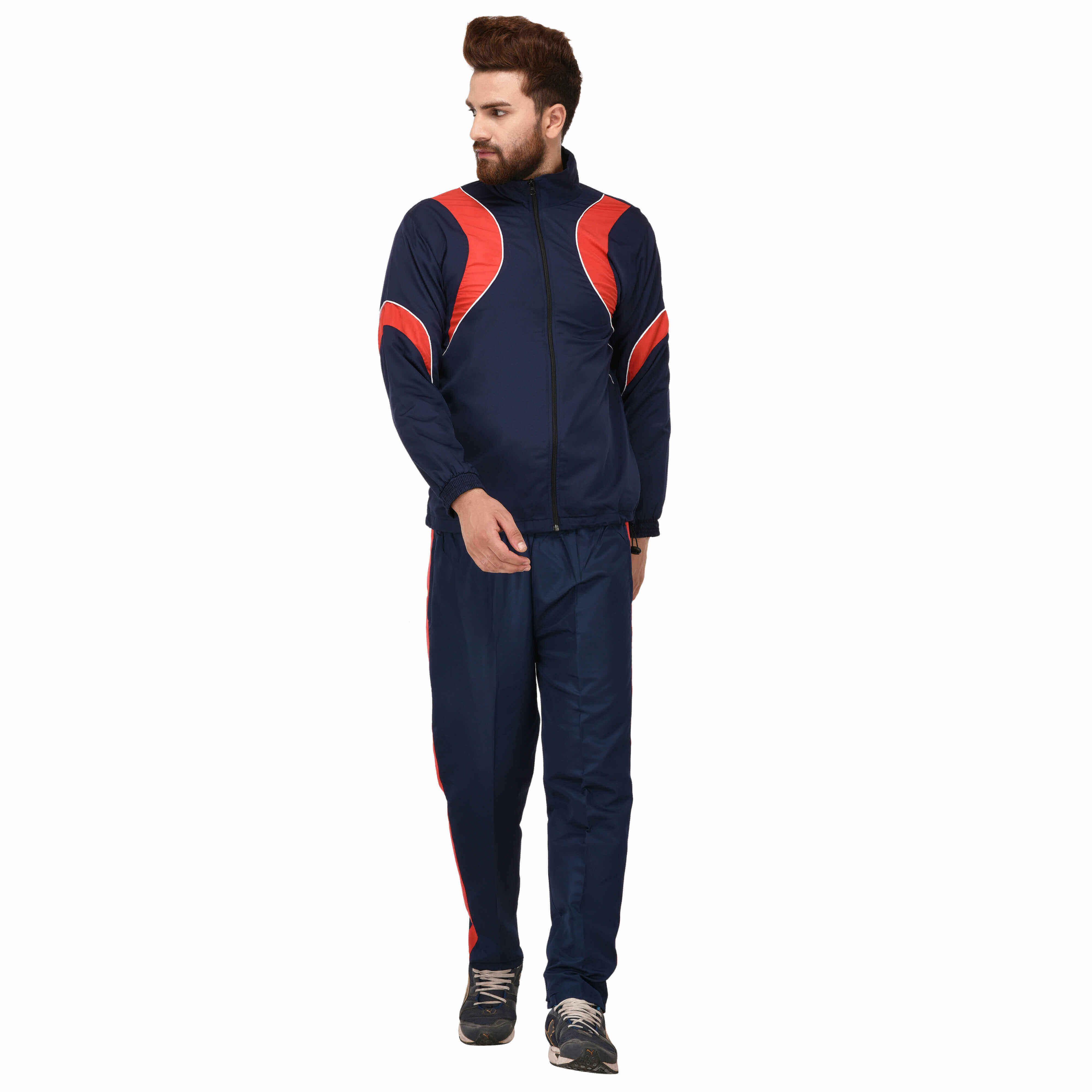Red Tracksuit Manufacturers in Noida
