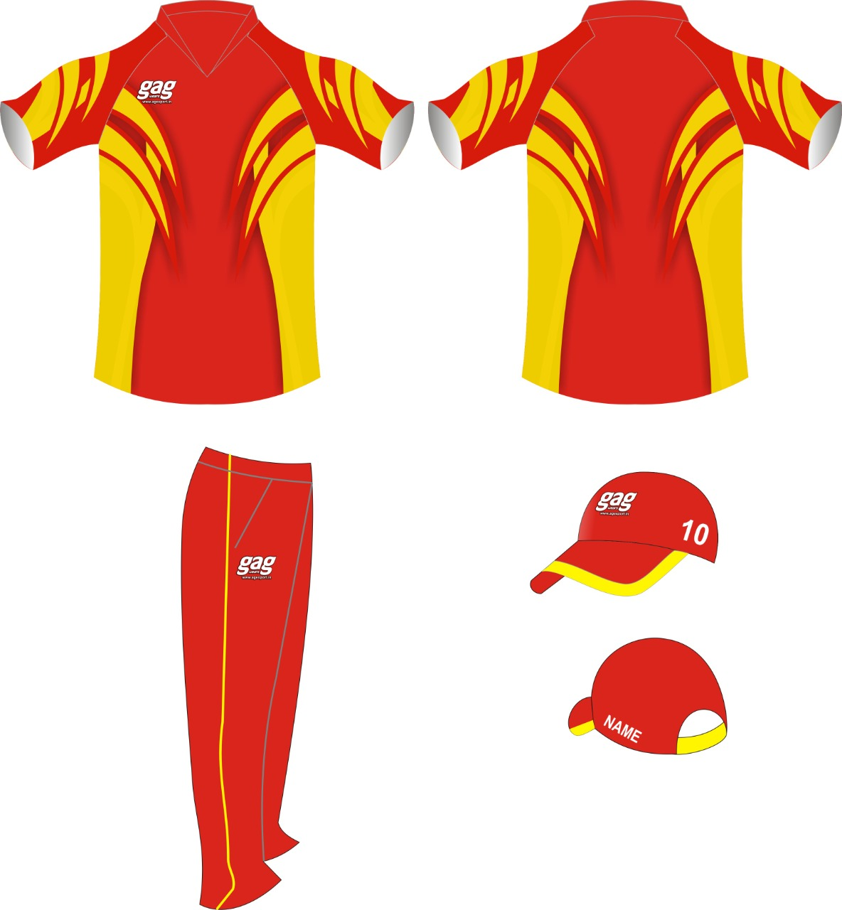 Sublimation Cricket Uniform Manufacturers in Jalandhar in Argentina