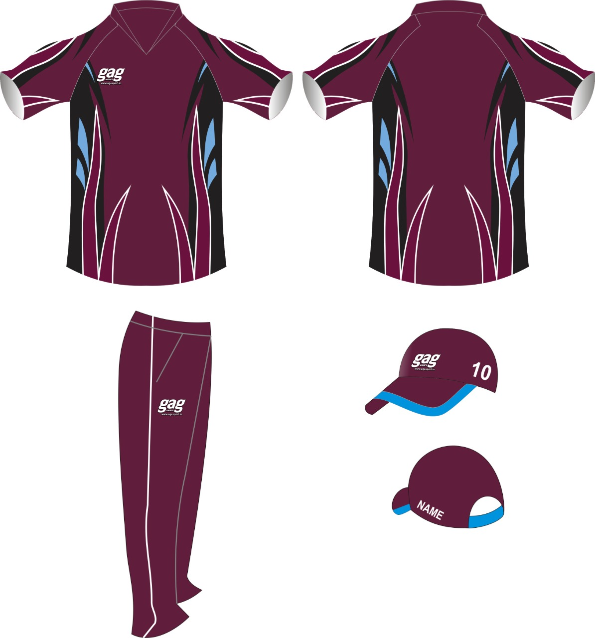 Womens Cricket Uniform Manufacturers in Jalandhar in Australia