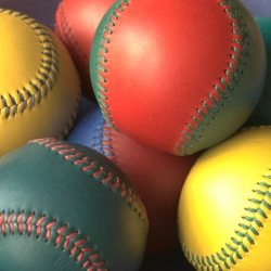 Multi color baseball Suppliers in saharanpur