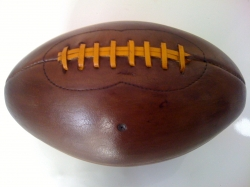 Vintage Leather American Football Manufacturers in rajkot