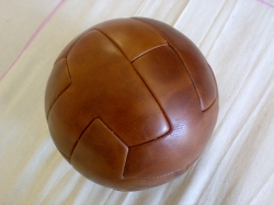 Vintage Leather T Shape Soccer Ball Exporters in rajkot